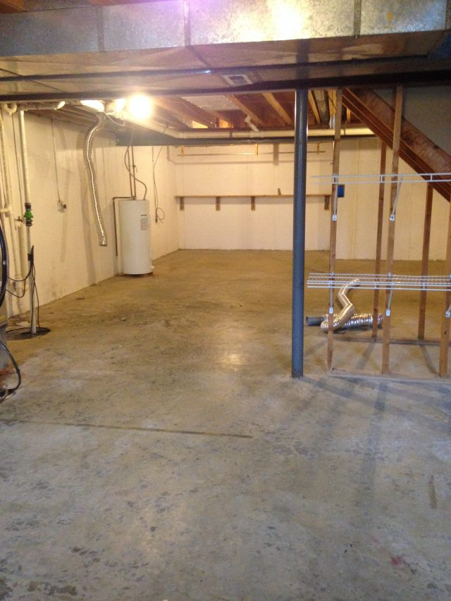 Cherry Hills Duplexes- Unfinished Basement