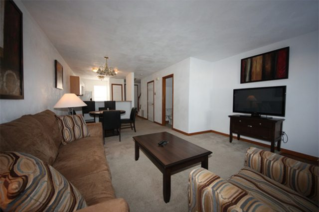 """157 Park Place- """"furnished"""" living room example"""