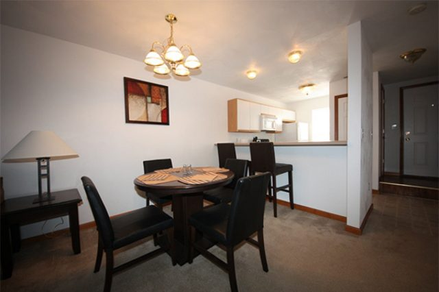 """157 Park Place- """"furnished"""" dining area example"""
